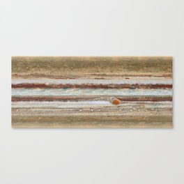 Jupiter from Hubble Canvas Print