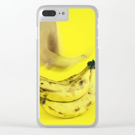 Grab a banana Clear iPhone Case