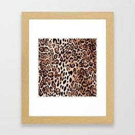 SAFARI LEO Framed Art Print
