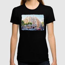 La Pedrera Barcelona T-shirt