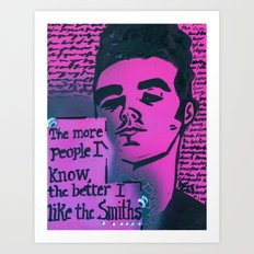 The Smiths is Dead Art Print