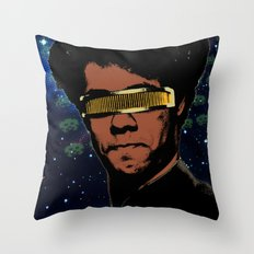 Moss Trek Throw Pillow