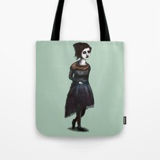 French Girl IV Tote Bag