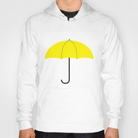 himym Hoodies featuring HIMYM - The Mother by Raye Allison Creations