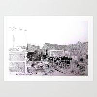 Barton Farm Art Print