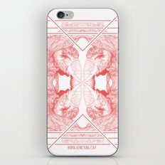 The Willow Pattern (Rose variation) iPhone Skin