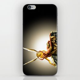 CUPID AND PSYCHE iPhone Skin