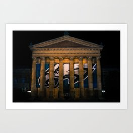 Philadelphia Museum of Super Bowl Champions Art Print