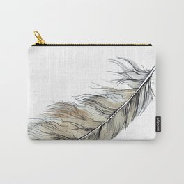 Owl feather Carry-All Pouch