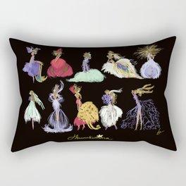 Thumbelina Dresses! Rectangular Pillow