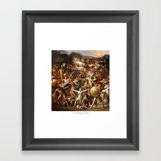 Azione E Reazione Di Un Mondo Distopico Framed Art Print