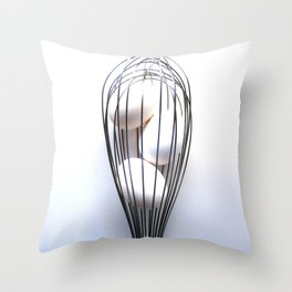 Whisk It Up Throw Pillow