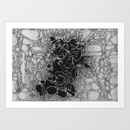 Tracery I Art Print