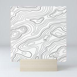 Intention #pattern #minimal Mini Art Print