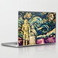 starwars Laptop & iPad Skins featuring StarWars Night by Fknjedi1