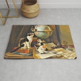 Henriette Ronner-Knip - World Traveler - Digital Remastered Edition Rug