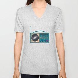 Space Radio Unisex V-Neck