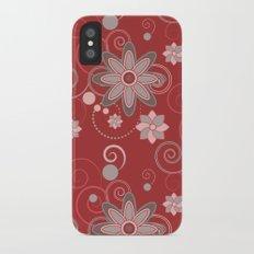 Tea Time Slim Case iPhone X