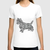terrier T-shirts featuring Terrier by PawPrints