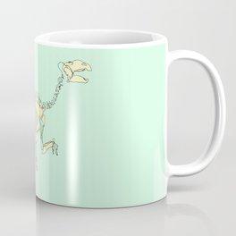 Pastel Iguanodon Coffee Mug
