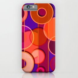 Circles & Lines #3 iPhone Case