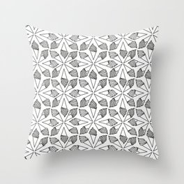 CONE / pattern pattern Throw Pillow