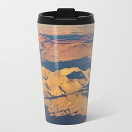 Andes Mountains Desert Aerial Landscape Scene Travel Mug