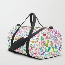 Watercolour Bunnies Duffle Bag
