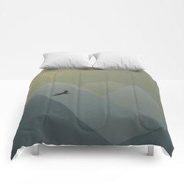 Viridian Mountains Comforters