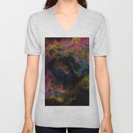 Abstract Nebula K3 Unisex V-Neck