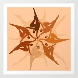 Sunchildren Art Print