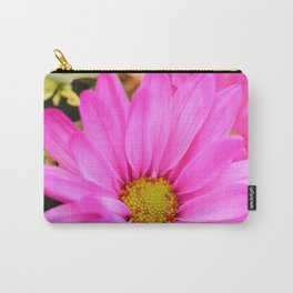Pink Daisy Petals macro Carry-All Pouch
