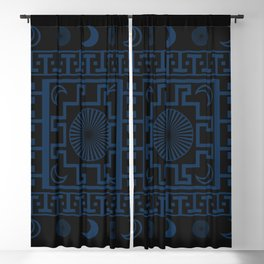 Midnight - Cool Variant Blackout Curtain