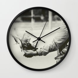 Caring Hand Wall Clock