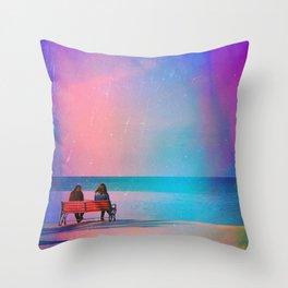 (Ricardo And Ryne.) Throw Pillow