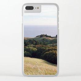 Tamalpais - 35mm Film Clear iPhone Case