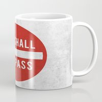 lotr Mugs featuring you shall not pass by jerbing