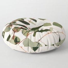 Summer Eucalyptus #2 Floor Pillow