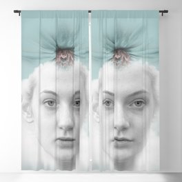 A girl who lived in a cloud Blackout Curtain