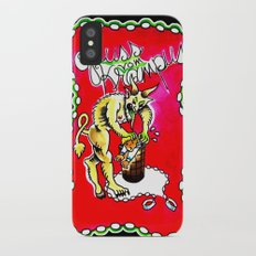 Gruss Vom Krampus iPhone X Slim Case