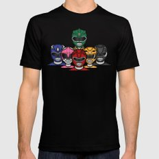 It's Morphin' Time! MEDIUM Mens Fitted Tee Black