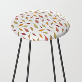 Autumn Leaves Pattern Counter Stool