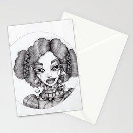 JennyMannoArt Graphite Illustration/Sophie Stationery Cards