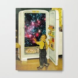 No More Galaxies for Today, Timmy! Metal Print