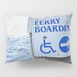 Ferry Boarding in Savannah Pillow Sham