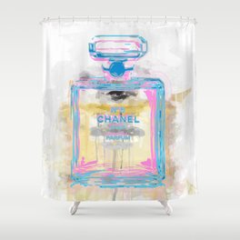 Perfume Bottle Shower Curtain