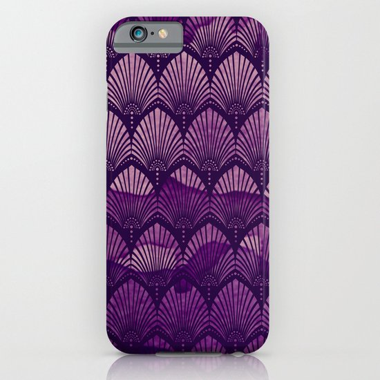 Variations on a Feather II - Purple Haze  iPhone & iPod Case