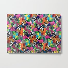 Floral Jungle Metal Print