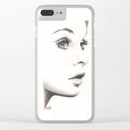 the shrimp... Clear iPhone Case