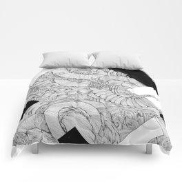 Opposing Insecurities Comforters